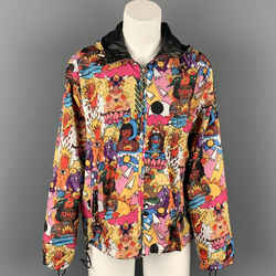 BALLY x RICARDO CAVAOLO Size 2 Multi-Color Polyester Jacket
