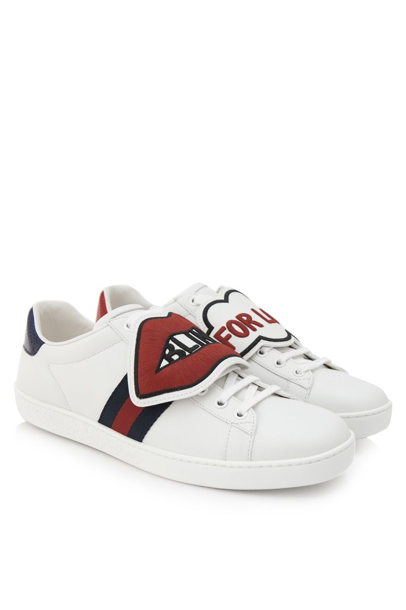 Pre-Owned Gucci Ace Blind For Love (W