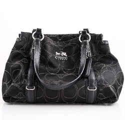Coach Mia Tote Bag Black One Size Authenticity Guaranteed
