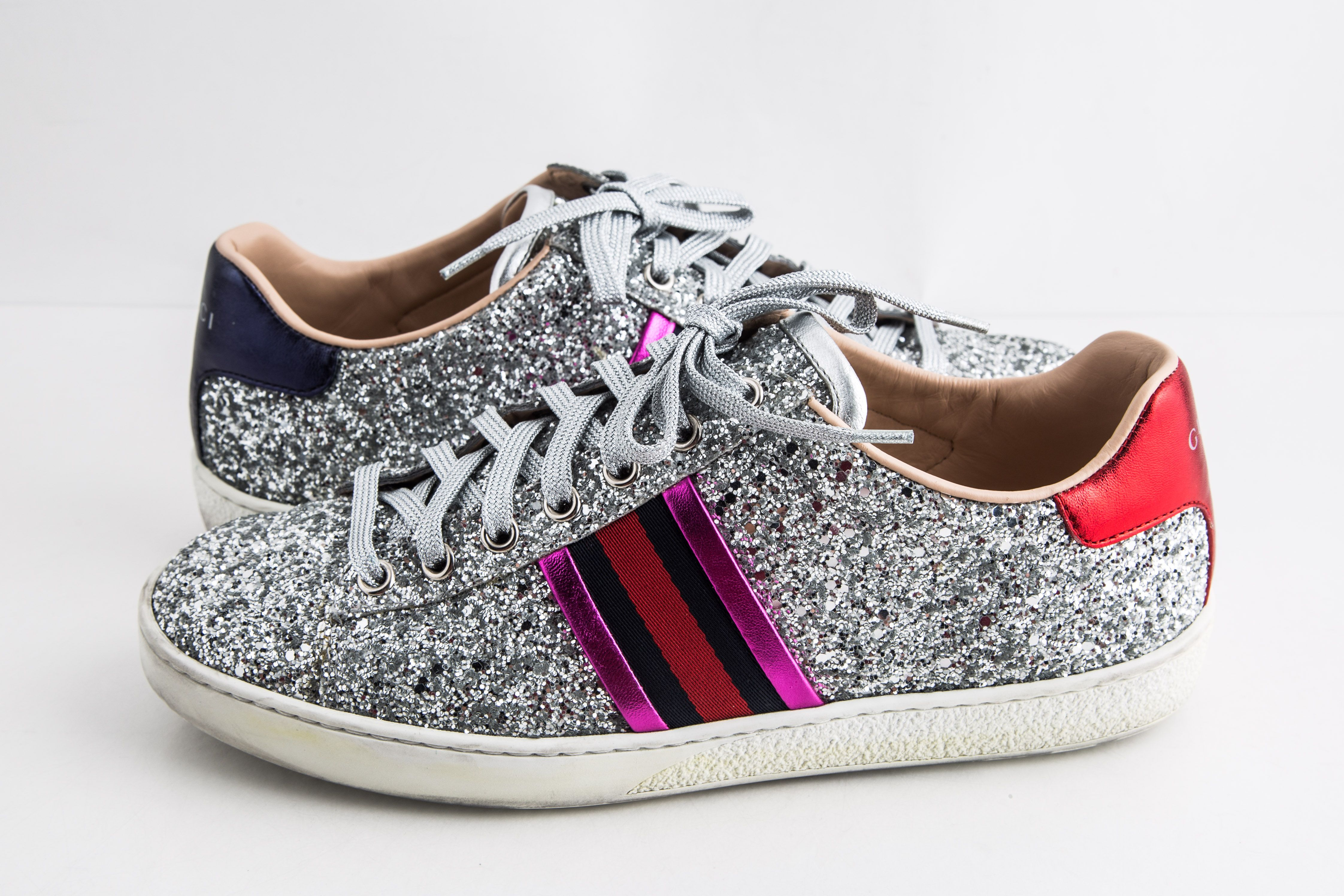 Gucci Ace Glitter Sneakers | LePrix
