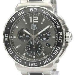 Polished TAG HEUER Formula 1 Chronograph Steel Quartz Watch CAU1115 BF519024