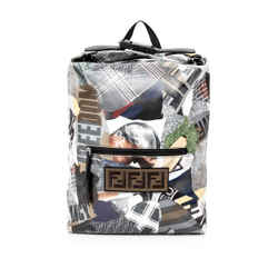 Pre-Owned Fendi Remix Century Backpack
