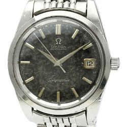 Vintage OMEGA Seamaster Cal 565 Rice Bracelet Steel Mens Watch 166.010 BF516887