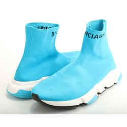Balenciaga Hi Speed Jacquard Knit Sneakers