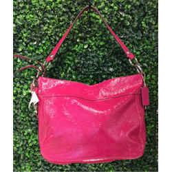 Coach Size L/XL Hot Pink Shoulder Bag