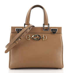 Zumi Top Handle Bag Leather Small