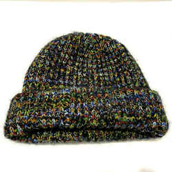 $495 Missoni Multicolor Knit Thick Warm Wool Beanie Hat