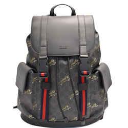 GUCCI  Bestiary Tigers GG Supreme Microfiber Backpack Bag