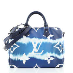 Speedy Bandouliere Bag Limited Edition Escale Monogram Giant 30
