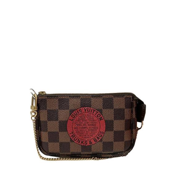 Louis Vuitton Mini Trunks & Bags Pochette (w/ Dust Bag)