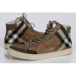 Burberry House Check Painton High Top Sneaker