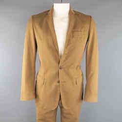 Maison Martin Margiela 38 Tan Brown Cotton Chino 32 31 Casual Suit