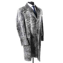 Gucci Rare Astrakhan Persian Lamb Fur Coat