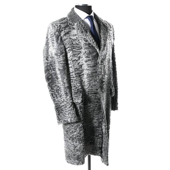 Gucci Rare Astrakhan Persian Lamb Fur Coat