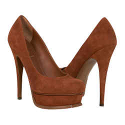 Yves Saint Laurent Shoe suede Platform Pump 36.5 / 6.5