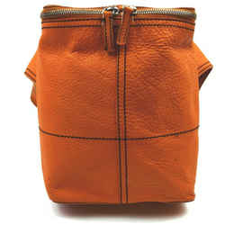 Prada Orange Leather Waist Bag Belt Pouch Fanny Pack 862353