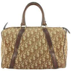 Dior Brown Monogram Trotter Boston Duffle Doctors Bag 915da414