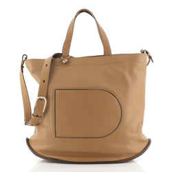 Pin Cabas Tote Leather