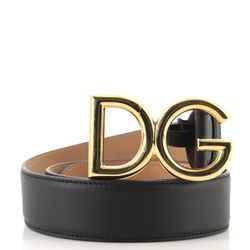 DG Logo Belt Leather Medium 85