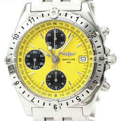 Polished BREITLING Chronomat Longitude Steel Automatic Watch A20048 BF518504