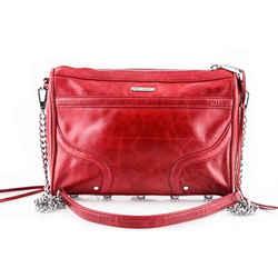 Rebecca Minkoff Mini Mac Crossbody Bag Red Size 9 Authenticity Guaranteed
