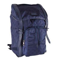 Gucci Guccisima Nylon Tide Blue Large Backpack 510336