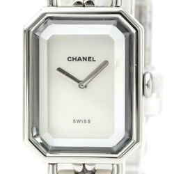 Chanel Premiere Quartz Stainless Steel Women's Dress Watch H1639 BF526871