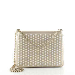 Triloubi Chain Bag Spiked Leather Small