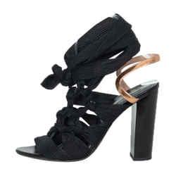 Dries Van Noten Ankle Wrap Sandals