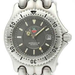 Polished TAG HEUER Sel Professional 200M Steel  Ladies Watch WG1313 BF518145