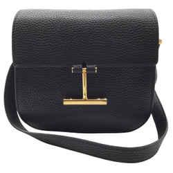 Tom Ford Tara Black Leather Shoulder Bag