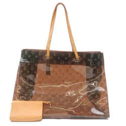 Louis Vuitton Clear Monogram Ambre Cabas Cruise GM Tote with Pouch 240751