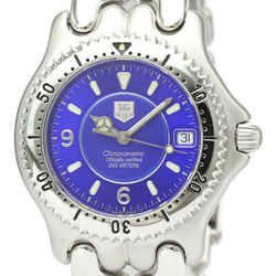 Polished TAG HEUER Sel 200M Chronometer Automatic Mens Watch WG5117 BF528691