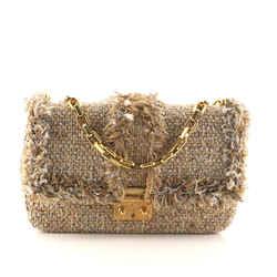 Miss Dior Flap Bag Tweed Medium