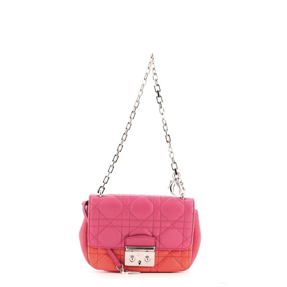 Miss Dior Promenade Bag Cannage Quilted Lambskin Mini