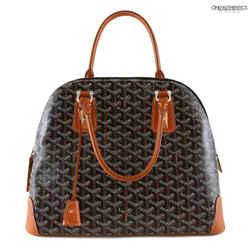 Goyard Black Monogram Vendome Bag