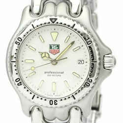 Polished TAG HEUER Sel Professional 200M Steel Mid Size Watch S99.013 BF531318