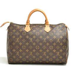 Louis Vuitton Vintage Speedy 35 Monogram Canvas City Handbag Lu338