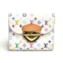 Louis Vuitton Joey White Multicolor Canvas Wallet LU102