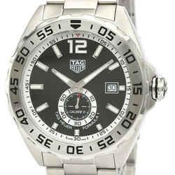 Polished TAG HEUER Formula 1 Calibre 6 Steel Automatic Watch WAZ201 BF533600