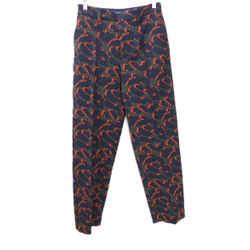 Zadig & Voltaire Green Orange Camo Pants sz 2
