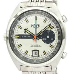 TAG HEUER Carrera 1553 Cal 15 Stainless Steel Automatic Mens Watch BF531379