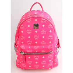 MCM Stark Backpack - Hot Pink