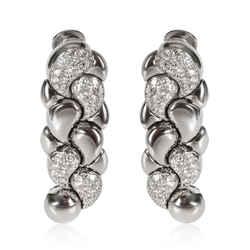 Chopard Casmir Diamond Earring in 18K White Gold 3.75 CTW