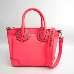Christian Louboutin Eloise Spike Studs 1165154 Women's Leather Handbag, BF512038