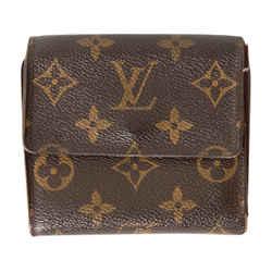 Louis Vuitton Monogram Canvas Double Snap Wallet