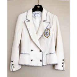 "Chanel White ""Devil Wears Prada"" Jacket"