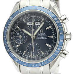 Polished OMEGA Speedmaster Day Date Steel Automatic Mens Watch 3222.80 BF505880