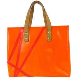 Louis Vuitton Rare Limited Robert Wilson Fluo Orange Monogram Vernis Reade PM 10L19
