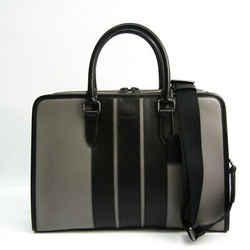 Coach BOND F35430 Men's Leather Briefcase,Handbag,Shoulder Bag Black,Gr BF521493